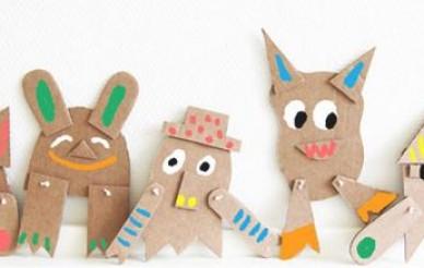 Taller marionetas de cartón